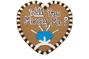 Will You Marry Me Cookie Cake