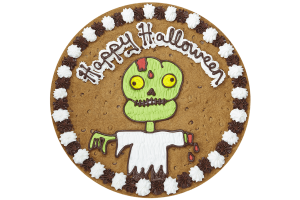 Zombie Cookie Cake