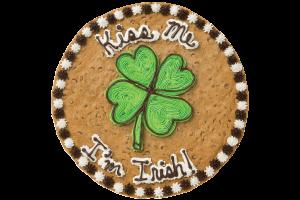 Kiss Me I'm Irish Cookie Cake