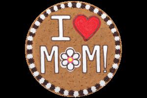 I Love Mom Cookie Cake