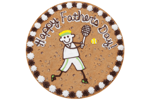 Tennis Cookie Cake