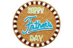 Happy Father's Day Cookie Cake