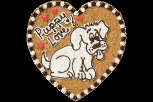 Puppy Love Cookie Cake
