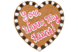 You Warm My Heart Cookie Cake