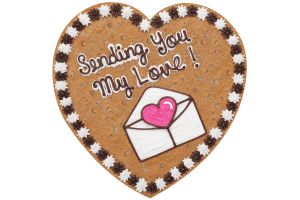 Sending You My Love Cookie Cake