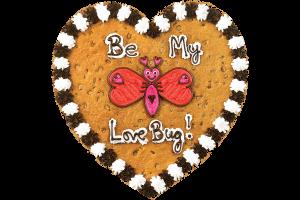 Love Bug Cookie Cake