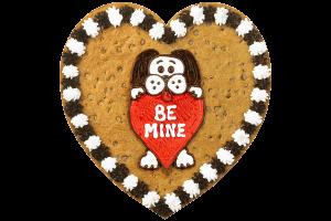 Be Mine Dog Cookie Cake