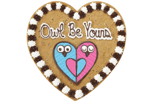 Owl Be Yours Cookie Cake