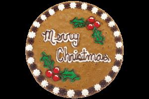 Holly Berries Cookie Cake
