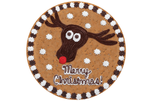 Rudolph Cookie Cake