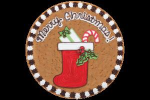 Stocking Cookie Cake