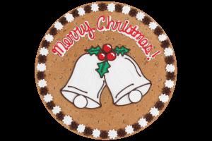 Merry Christmas Bells Cookie Cake