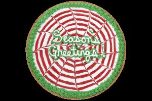 Seasons Greetings Cookie Cake