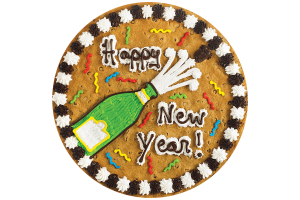 New Years Cookie Cake