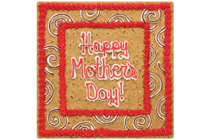 Happy Mother's Day Square Cookie Cake