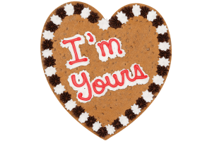 I'm Yours Cookie Cake