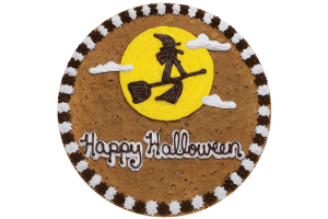 Witch on Moon Cookie Cake