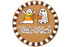 Trick-R-Treat Cookie Cake