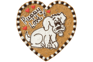 Puppy Love Cookie Cake