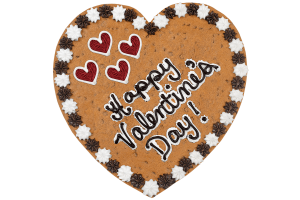 Happy Valentine's Day Cookie Cake