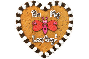 Love Bug Cookie Cake