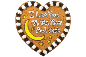 I Love You to the Moon and Back Cake