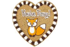 You're Foxy Cookie Cake
