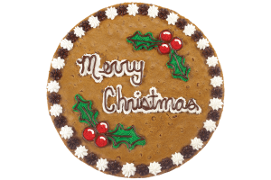 Holly Berries Cookie Cake