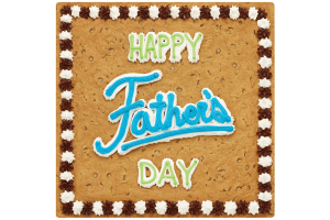 Happy father's Day Square Cookie Cake