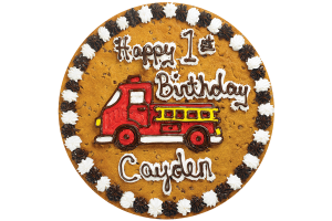 Fire Truck Happy Birthday #B1024