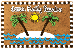 Family Reunion Palm Trees #O4013P