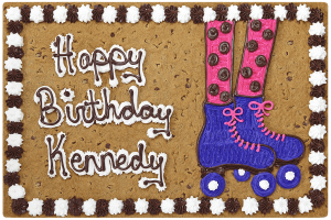 Roller Skates Happy Birthday #B1031P
