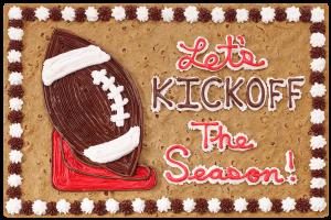 Let's Kickoff the Season Football #S3510