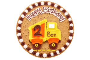 Happy Birthday Dump Truck #B1036