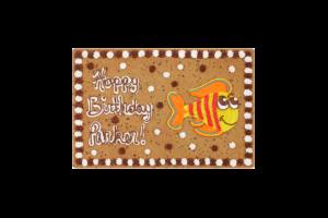 Fish Happy Birthday #B1034P