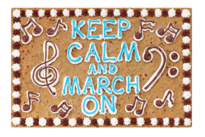 Keep Calm and March On #O4035