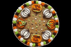 Cookie Combo Cake - Pumpkin