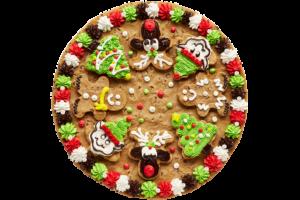 Cookie Combo Cake Gingerbread, Elves, Reindeer