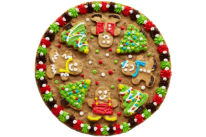 Cookie Combo Cake Gingerbread, Trees