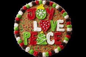 Joy Love Peace cake